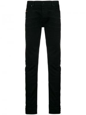 Зауженные джинсы Tepphar Diesel. Цвет: черный