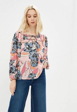 Блуза Billabong. Цвет: розовый