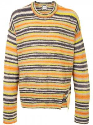 Полосатый свитер Wooyoungmi. Цвет: желтый