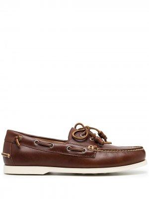 Топсайдеры Merton Polo Ralph Lauren. Цвет: коричневый