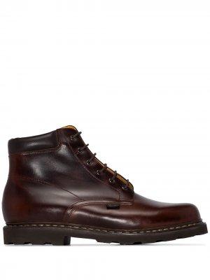 Ботинки Bergerac Paraboot. Цвет: коричневый