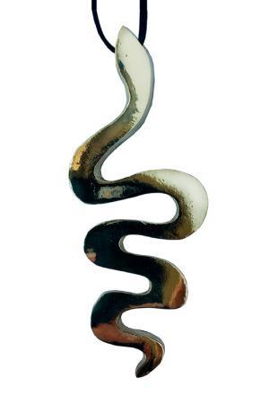 Кулон Змея ALEXANDRIA HOME. Цвет: золотой