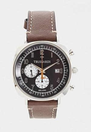 Часы Trussardi. Цвет: коричневый