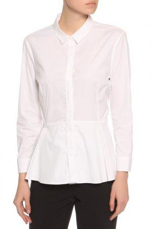 Блуза Burberry. Цвет: белый