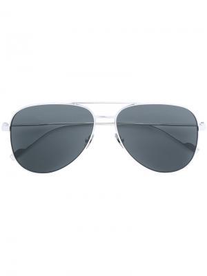 Солнцезащитные очки Classic 11 Saint Laurent Eyewear. Цвет: золотистый