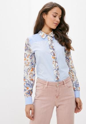 Блуза Rich&Royal. Цвет: голубой