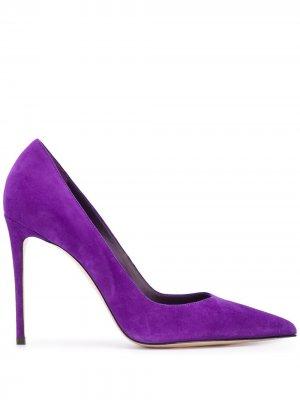 Туфли-лодочки Eva на шпильке Le Silla. Цвет: фиолетовый