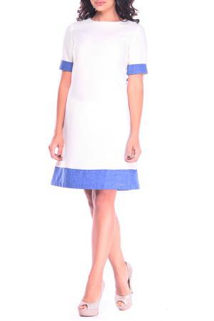 Платье Rebecca Tatti. Цвет: молочный