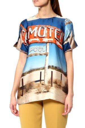 Блуза N°21. Цвет: мультиколор