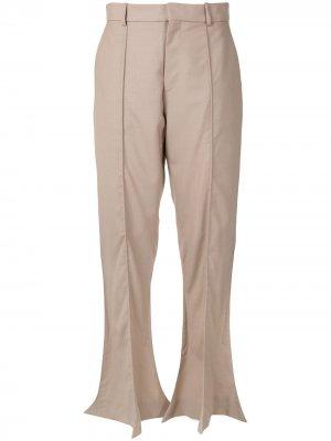 Расклешенные брюки Trumpet Y/Project. Цвет: коричневый