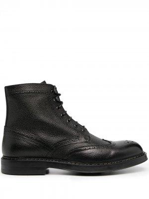 Doucals ботинки на шнуровке Doucal's. Цвет: черный