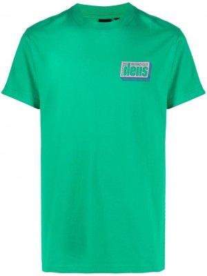 Футболка с логотипом Deus Ex Machina. Цвет: зеленый