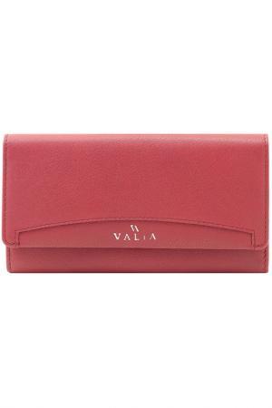 Кошелек VALIA. Цвет: бордовый