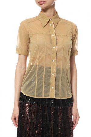 Блуза N°21. Цвет: бежевый