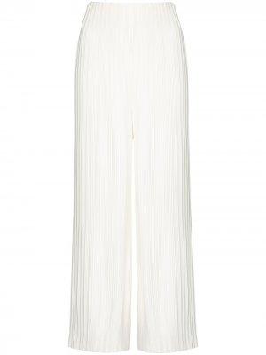 Широкие брюки Zoya со складками Solace London. Цвет: белый