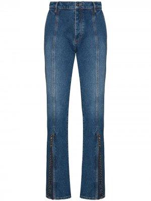 Расклешенные джинсы с завышенной талией Y/Project. Цвет: синий