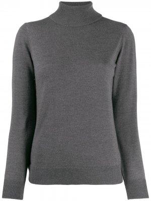 Приталенный свитер с высоким воротником A.P.C.. Цвет: серый