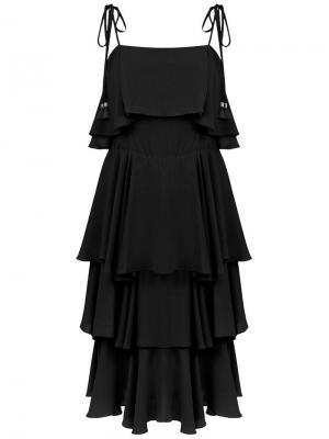 Primosole midi dress Olympiah. Цвет: черный