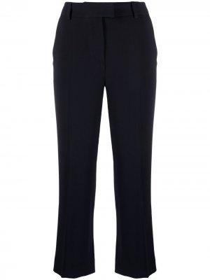 Расклешенные брюки средней посадки Alberto Biani. Цвет: синий