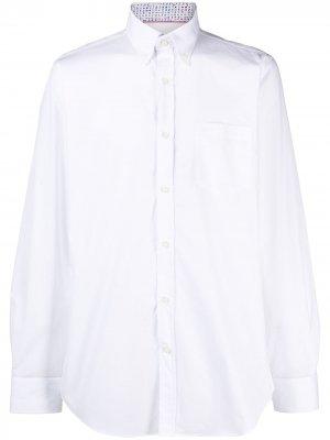 Рубашка на пуговицах Paul & Shark. Цвет: белый