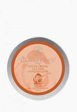 Скраб для тела LCosmetics L'Cosmetics. Цвет: прозрачный