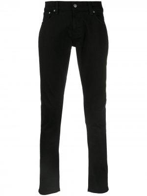 Джинсы скинни Nudie Jeans. Цвет: черный