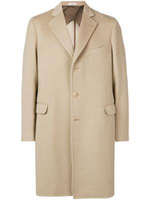 Single-breasted coat Boglioli. Цвет: нейтральные цвета