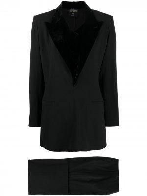 Костюм-двойка с заостренными лацканами Jean Paul Gaultier Pre-Owned. Цвет: черный
