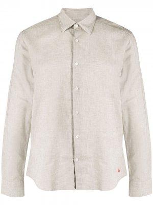 Рубашка на пуговицах Peuterey. Цвет: нейтральные цвета