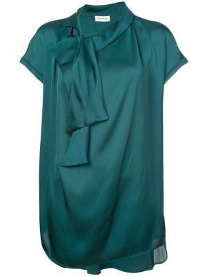 Блузка Jagolanna By Malene Birger. Цвет: зеленый