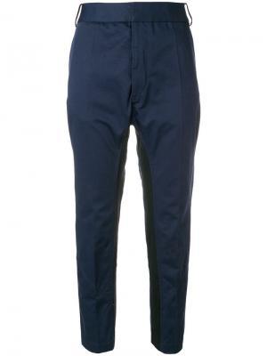 Silene cropped tapered trousers Haider Ackermann. Цвет: синий