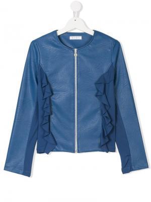 Куртка на молнии Elsy. Цвет: синий