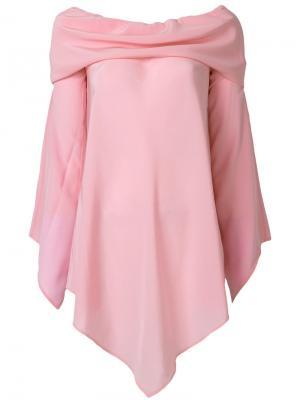 Блузка с открытыми плечами Briar Sies Marjan. Цвет: розовый