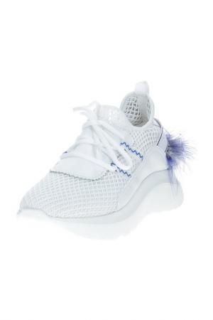 Кроссовки BARRACUDA. Цвет: v1045 bianco pium.blu