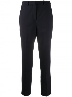 Укороченные брюки строгого кроя Incotex. Цвет: синий