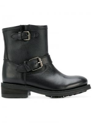 Ботинки Tear Ash. Цвет: черный