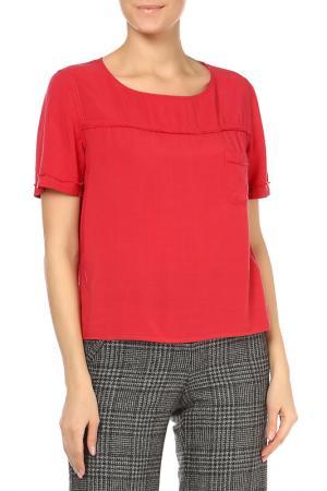 Блузка Pennyblack. Цвет: 004-red