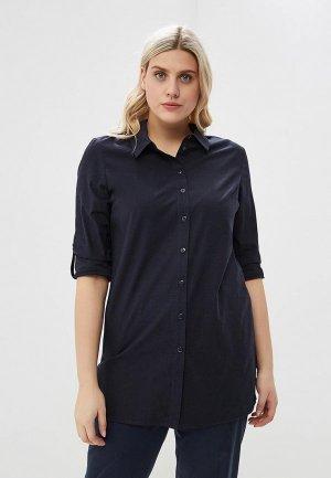 Блуза Vis-a-Vis. Цвет: синий