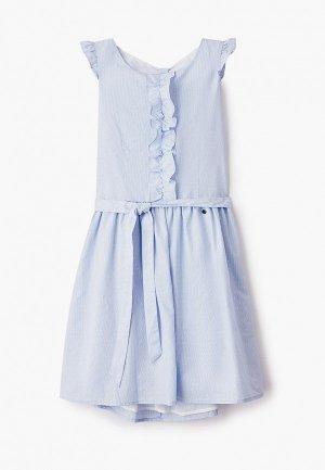 Платье Finn Flare. Цвет: голубой
