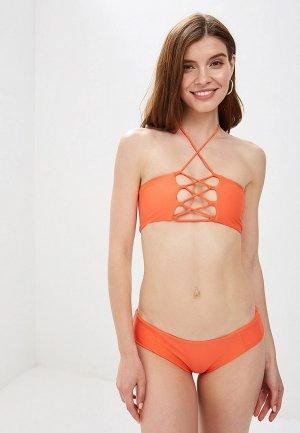 Купальник Allegri. Цвет: оранжевый