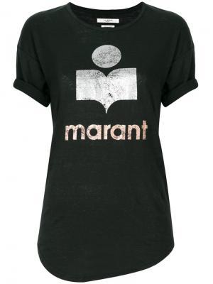Футболка Koldi Isabel Marant Étoile. Цвет: черный