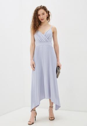 Платье Chi London. Цвет: голубой