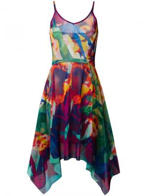 Платье с рисунком Jean Paul Gaultier Vintage. Цвет: разноцветный