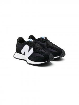 Кроссовки с логотипом New Balance. Цвет: черный