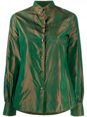 Рубашка 1990-х годов с переливчатым эффектом Jean Paul Gaultier Pre-Owned. Цвет: зеленый