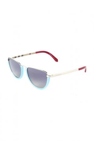 Очки солнцезащитные BURBERRY. Цвет: silver