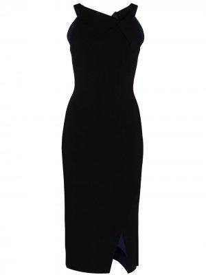 Платье миди Klint Roland Mouret. Цвет: черный