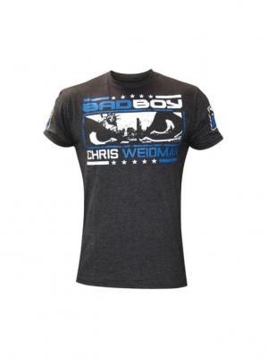 Футболка Bad Boy Chris Weidman UFC 162 Walkout Tee. Цвет: серый
