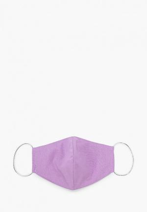 Маска для лица с фильтрующим элементом Imocean. Цвет: фиолетовый