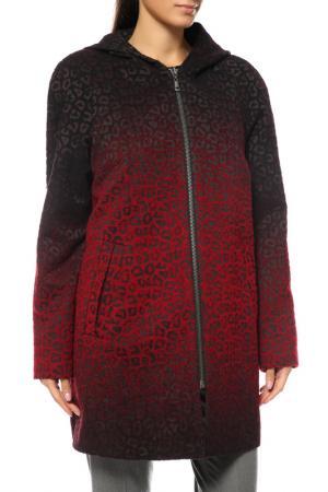 Пальто Loft. Цвет: красный
